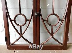 1890's Double CASEMENT WINDOW Frame & Glass VICTORIAN Style Original ORNATE