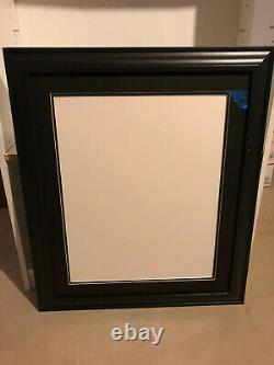 (2) 20x24 Picture Frame for 16x20 photo Acid Free Double Mats Museum Glass