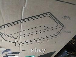2 Sterling seated shower wall sets including 2 tubs 1 Sterling 30x60 and 1 Aloha