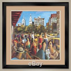32Wx32H UNION SQUARE by DIDIER LOURENCO RESTO DOUBLE MATTE, GLASS & FRAME