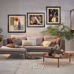32Wx40H NUDE WITH CALLA LILIES by DIEGO RIVERA DOUBLE MATTE, GLASS & FRAME