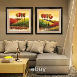 40Wx32H BELLAGIO PROMENADE by HOWARD BEHRENS DOUBLE MATTE, GLASS and FRAME