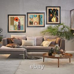 40Wx32H EVERYTHING REMINDS ME HER by ALEX CHERRY DOUBLE MATTE, GLASS & FRAME