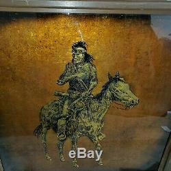 48 Double Sided Jack White1933-2016 Native Chief Gold Leaf Echruseos Texas