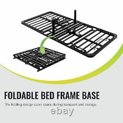 Adjustable Twin XL Bed Frame Base for Twin Latex Memory Foam Mattress and More