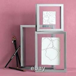 Any Size, Shadow Box, Double Glass Floating Frame, 3D Picture, 1.5 cm Space
