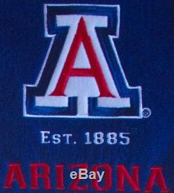 Arizona Wildcats Heritage Wool Double Matted Glass Framed Banner NCAA