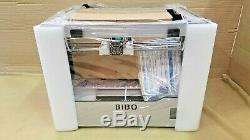 Bibo 3D Printer Dual Extruder Laser Engraving Sturdy Frame Touch Laser X Glass