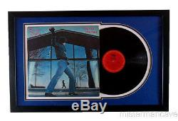 Billy Joel Professionally Framed Record Double Matted Glass Houses