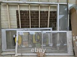 COMMERCIAL STOREFRONT DOUBLE DOOR, FRAME & CLOSER 7ft tall +2by32 each wide