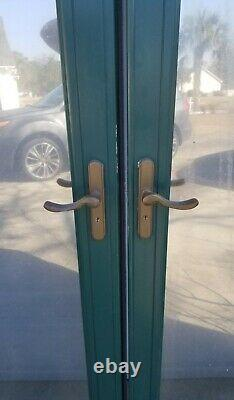 Double/French Glass Storm Doors withAstragal Frame. (2-36x80 Doors). WithLockset