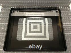 GE Double Oven Outer Door Glass with Frame P# WB57T10332