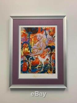 James Jean Forager Print Custom Framed, Double Matte Under Museum Glass