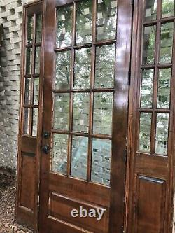 Magbee 36 in. X 96 in. Exterior Door with Double Pane Glass and Frame-Atlanta Area