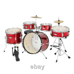 NEW Glarry 16 5 drum frame glass red drum (double oil leather + adult foot)