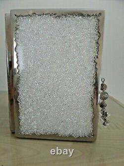 Rare Boxed Absolutely Stunning Swarovski Crystal Double Frame with Certificates