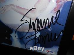 SEXY SUZANNE SOMERS AUTOGRAPH 8X10 DOUBLE GLASS FRAME PSA/DNA #W36244 FREE SHIP