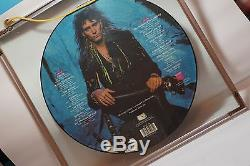STEVE VAI Passion And Warfare Picture Disk LP Long Play with Double Glass Frame
