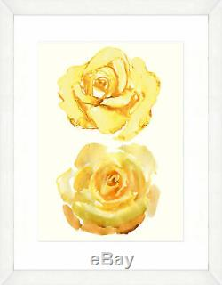 Smith & Co. Watercolor Double II Framed Giclee Print