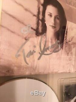 Tori Amos SIGNED God Cd FRAMED in double sided glass with 2017 Tour Pass