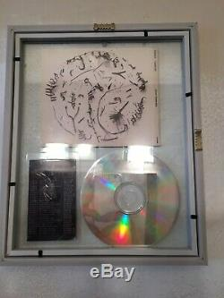 Tori Amos SIGNED WINTER Cd single FRAMED in double glass with 2017 TOUR PASS