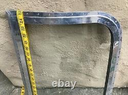 USED Glass WING WINDOW & Aluminum FRAME Dual Pane for Vintage AIRSTREAM TRAILER