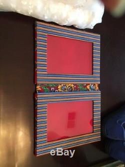 Vera Bradley double picture frame