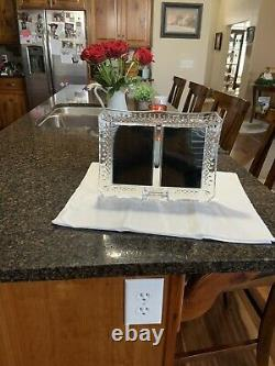 WATERFORD CRYSTAL LISMORE DOUBLE 4x6 PICTURE FRAME