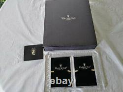 Waterford Crystal Double Lismore Double Photo Picture Frame for 4X6 photos