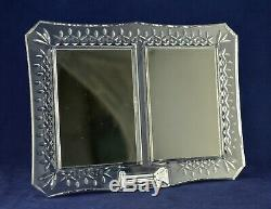 Waterford Crystal LISMORE 4 x 6 Double Picture / Photo Frame