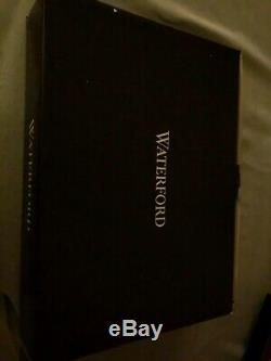 Waterford Crystal Lismore Double 4x6 Crystal Picture Frame 40035391 NIB
